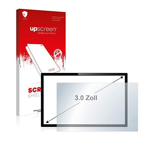 upscreen Schutzfolie für 3 Zoll Kameras (67.4 x 38.4 mm, 16:9) - Kristallklar, Kratzschutz, Anti-Fingerprint