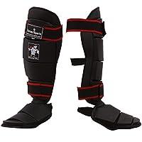 TurnerMAX Shin Instep Pad Kickboxing Protección pierna Grande