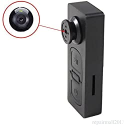 CAM 360 HD Mini DVR Button Pinhole Spy Hidden Video Recorder Camera