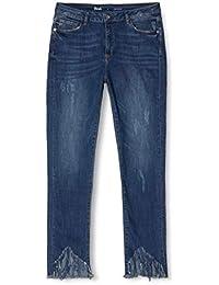 Marchio Amazon - find. Jeans ncon Orlo Sfrangiato Donna