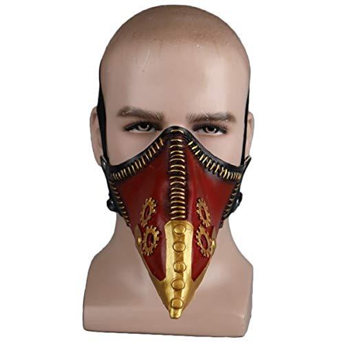 QQWE Rabe Mundmaske Schnabel Maske Halloween Show Dress Up Requisiten Spielshow Cosplay Latex Requisiten,A-OneSize