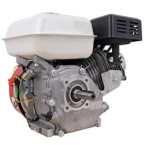 DeTec. DT-LB180 7 PS Benzinmotor 210 CCM (19mm Wellendurchmesser, mit Ölmangelsicherung, Seilzugstart, 1 Zylinder 4-Takt luftgekühlt)