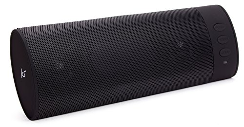 KitSound BoomBar Universal Tragbares Aufladbares Stereo Bluetooth Wireless Soundsystem Kompatibel mit Apple...