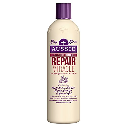 Aussie Repair Miracle Conditioner for Damaged Hair, 400 ml