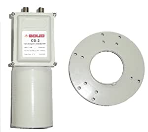 Solid CB-2 C-Band Dual Polarization with Dual Output LNBF