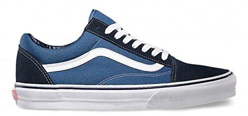 Vans old skool, sneakers unisex adulto, blu (marina militare), 36.0
