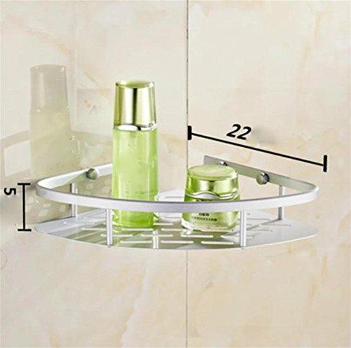pengweialluminio dello spazio rack bagno scaffalature bagno al piano treppiede 1/2/3 , 1
