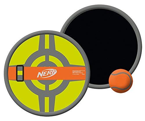 Happy People 16576 - Juego de pelota de gomaespuma de neopreno con velcro, amarillo