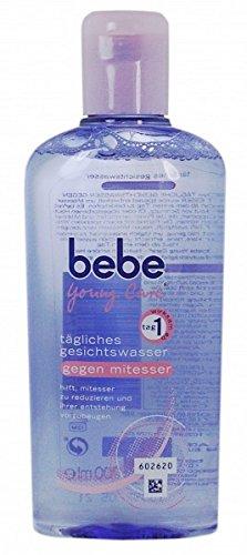 Bebe Young Care Gesichtswasser gegen Mitesser 200ml, Pack 200 ml:3 x 200 ml