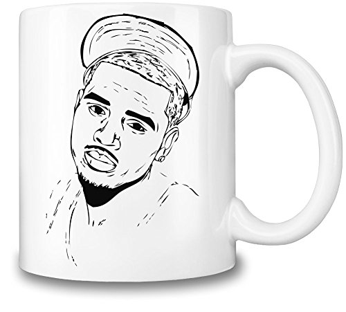 Chris Brown Stencil Becher-Schale