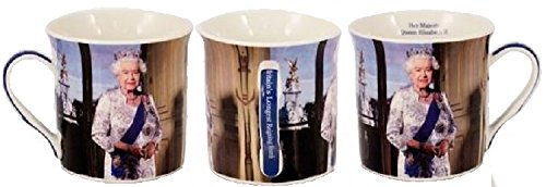 Bone Swannell Mug John Elizabeth Ii China Windsor Licenced Souvenir Queen Cup Gift Collection Officially Official Portrait tsQxBhrdC