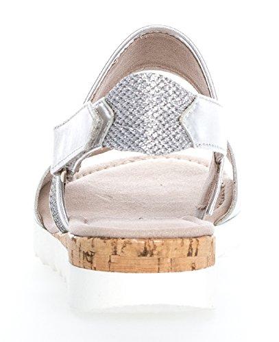 GaborComfort Sport - Sandali alla schiava Donna argento (Kork)