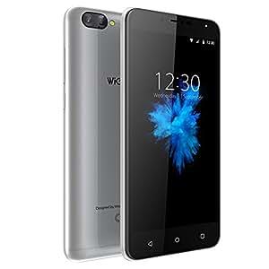 Telefoni Cellulari in 0fferta 4G, Telefono Cellulare 5.5 Pollici, 2GB RAM +16GB ROM, HD 1280 * 720, Doppia Fotocamera Posteriore 8MP+5MP, Android 7.0, Batteria 2970mAh (Wieppo S6 Scheggia)