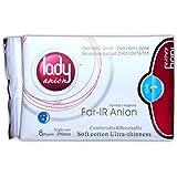 Lady anion Sanitary Napkins - Pack of 50 - Night Use