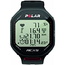 Pack Polar RCX5 GPS (incluye G5) - Reloj para triatlón con pulsómetro con GPS externo G5 (incluido), sumergible, sensor de  velocidad