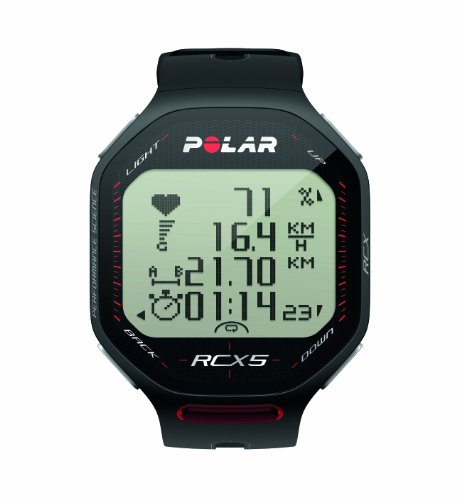 Zoom IMG-1 polar rcx5 run cardiofrequenzimetro nero