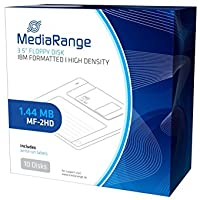 MediaRange MR200 diskette - Disquetes Negro