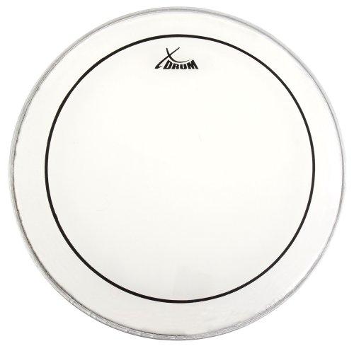 """XDrum 14\"""" Oil Hydraulic Schlagzeugfell (14 Zoll, Drumhead, Ölfell, saubere Klangverteilung und Klangtiefe, kurzes Sustain bei trockenem Sound)"""