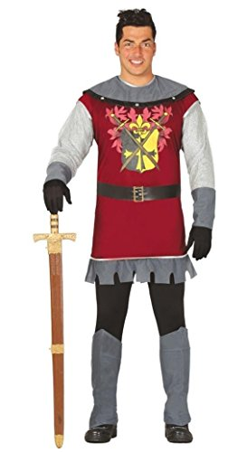 mittelalterlicher Märchen Prinz Karneval Motto Party Kostüm für Herren Gr. M - L, - Prinz Schneewittchen Kostüm