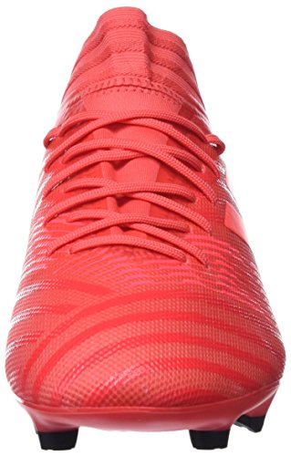 adidas Herren NEMEZIZ 17.3 FG Fußballschuhe Rot (Reacor/Redzes/Cblack)