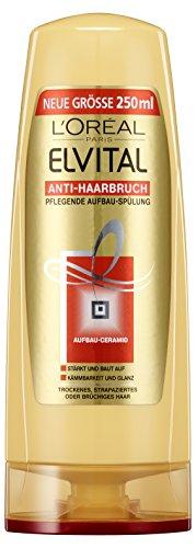 L\'Oréal Paris Elvital Pflegende Aufbauspülung Anti-Haarbruch, 6er Pack (6 x 250 ml)