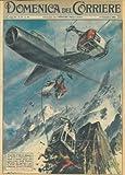 Sul Monte Bianco un aereo a reazione, volando a bassa quota, tagliava i cavi della funivia piu' alta d'Europa.