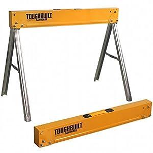 ToughBuilt–C300caballete caballete de trabajo, patas plegable