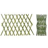 JIANFEI JIANFEI-weilan Holz Zaun Gartentor Gartenzaun Steckzaun Tier Leitplanke Außendekoration Pflanze Blume Wasserdicht, 5 Größen Unterstützung Anpassung (Size : 100x180cm)