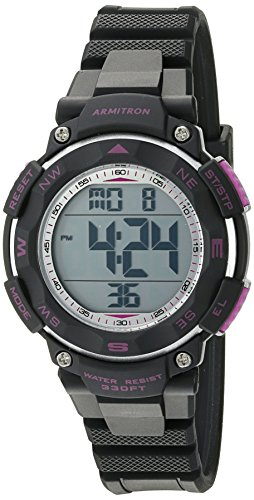 armitron-sport-womens-45-7058bkpr-purple-accented-digital-chronograph-black-resin-strap-watch