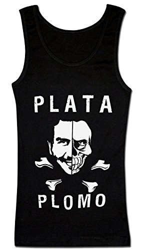strange-plata-o-plomo-artwork-womens-tank-top-shirt-xx-large