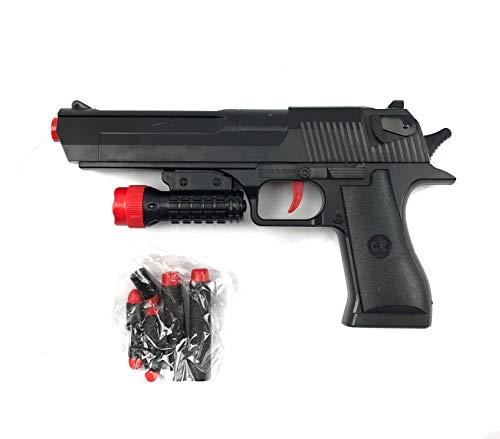 Mediawave Store Pistola Giocattolo CIGIOKI Lancia dardi 368060 con puntatore dardi Inclusi