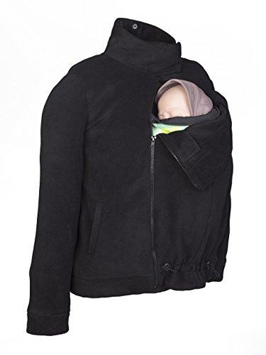 Momawo | Abrigo Polar de Porteo y Maternidad Multifuncional y Adaptable, Unisex, Ideal para Invierno...