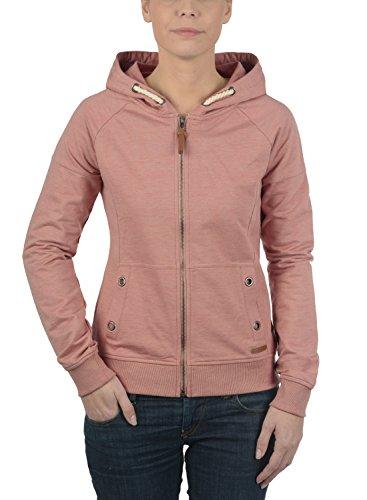 DESIRES Mandy - veste à capuche - Femme Powder Rose Mel (5178M)