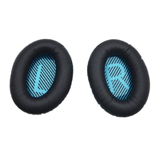 Auricolari di ricambio Cuscinetto cuffia per Bose Quietcomfort 2 QC2, Quietcomfort 15 QC15, Quietcomfort 25 QC25, Quietcomfort 35 QC35, Around Ear 2 AE2, AE2i, AE2w cuffia con iParaAiluRy Garanzia
