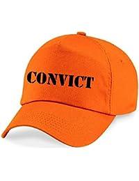 CONVICT Funny Printed Baseball Cap