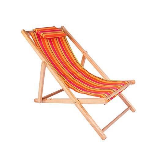 Deck-kissen-lagerung (Gdfr5g5d Rückenlehnenkissen for Sonnenstühle, Trueshopping Hartholzrahmen, klappbar Rimini Classic Deck Chair mit Armlehnen - Blue Fabric Slip (Color : E))