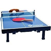 Donic-Schildkröt Mini Mesa de Tenis de Mesa, con 2 Raquetas y 1 Pelota, Plegable en un Maletín, 838576