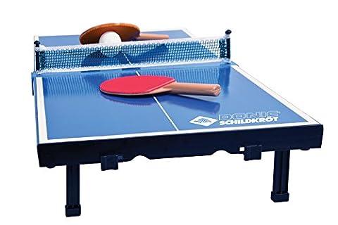 Donic-Schildkröt TT-Minitisch Mini Tischtennis-Set, Blau, 370 x 358 x 60 cm