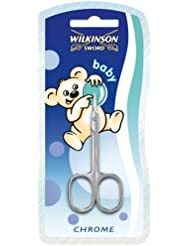 Wilkinson Sword Maniküre Schere Babyschere Nagelschere in Chrom, 1 St