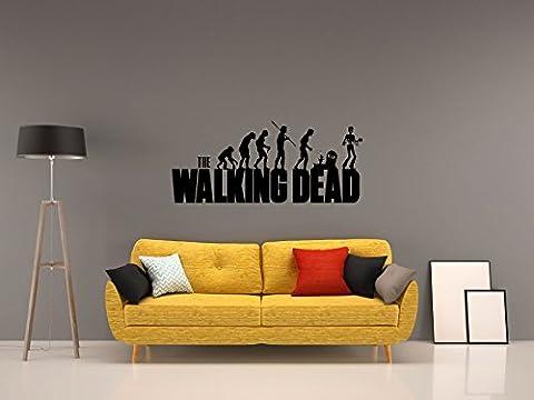 The Walking Dead - EVO - Schwarz - ca. 105 x 45 cm