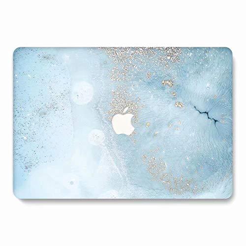 AQYLQ MacBook Schutzhülle/Hard Case Cover Laptop Hülle [Für MacBook Pro 13 Zoll - mit CD-Laufwerk: A1278], Matt Plastik Hartschale Tasche Schutzhülle, DL70 Blauer Marmor (In Fall Pink Macbook 13 Pro)