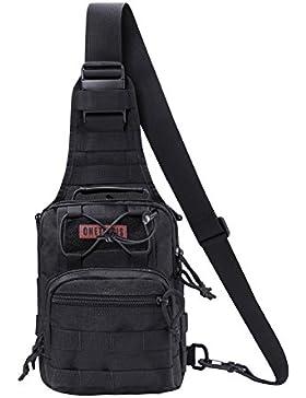 OneTigris 1000D Taktische Molle Umhängetasche EDC Brusttasche für Outdoor-Aktivitäten