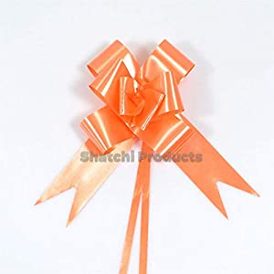 Gifts 4 All Occasions Limited SHATCHI-386 - Lote de 20 lazos de 30 mm, color naranja
