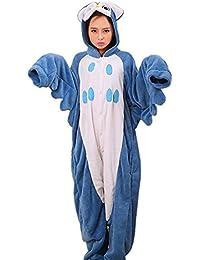 Samgu-Hibou animal Pyjama Cospaly Party Fleece Costume Deguisement Adulte Unisexe