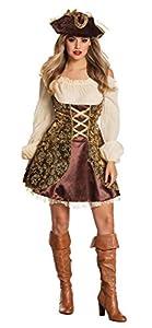 Boland - Disfraz de pirata para mujer, talla 40 (877959)