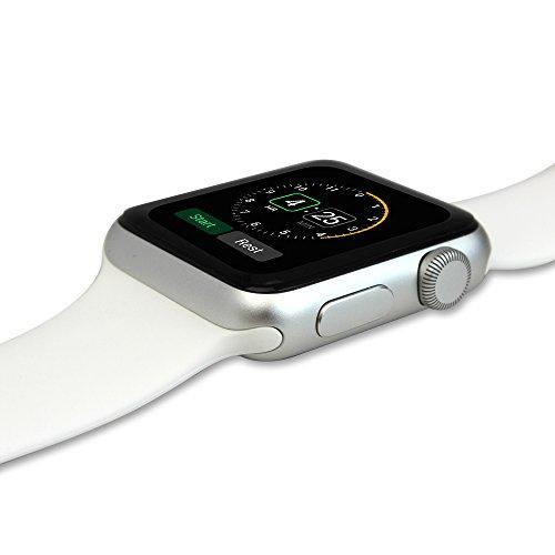 Skinomi, SK18680 TechSkin, Schutzfolie für Apple Watch und Apple Watch Series 3, wasserdicht, (42 mm) 6er Pack - 3