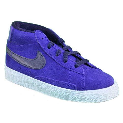 hot sale online 4d5fc a1393 Nike Blazer Mid Vintage Purple Suede Kids Trainers Size 28.5 EU