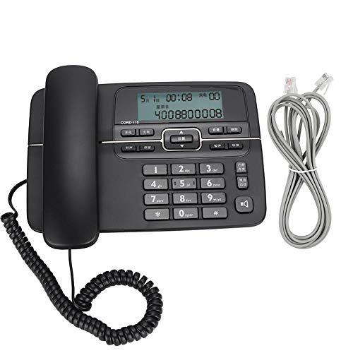 Tangxi Teléfono Cable contestador automático, identificador