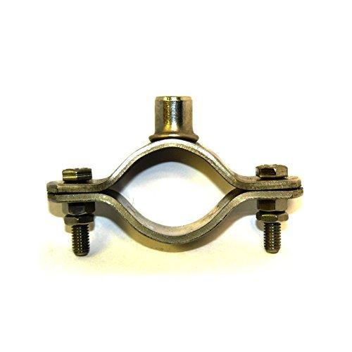 T304 Edelstahl Munsen Typ herumkommandiert Rohr Rohrschelle M10 65mm NB Packungsgröße: 1
