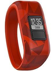 Garmin Vivofit Jr. Motivator and Activity Tracker - Broken Lava/Red